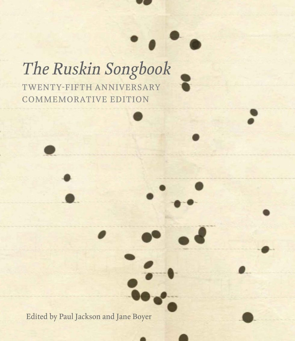The ruskin Songbook cover