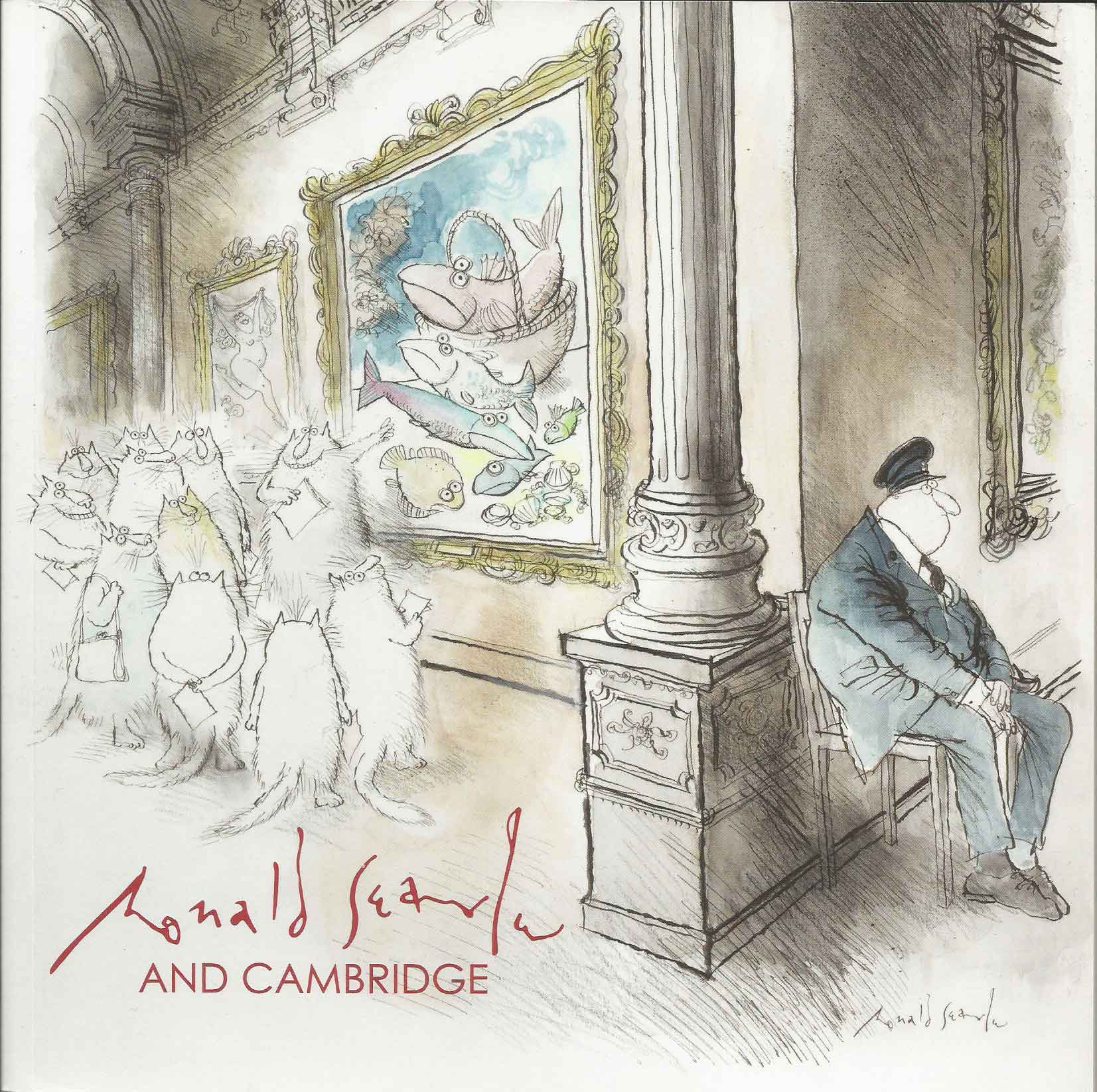 Ronald Searle and Cambridge cover